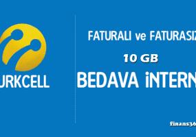 Turkcell Bedava 10GB İnternet