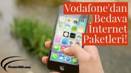 Vodafone'dan Bedava internet Nasıl Kazanırım?