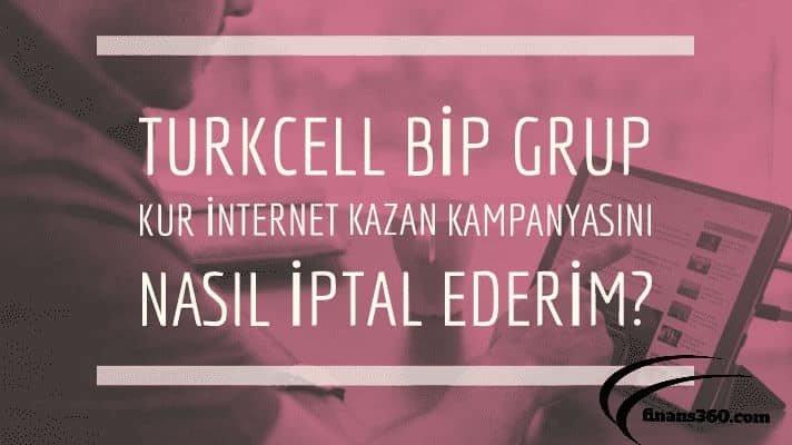 Turkcell Mobil Bip Grup Kur Ucretsiz Internet Kazan 2019