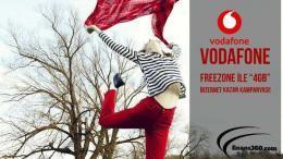 """Vodafone Freezone ile """"4GB"""" internet Kazan Kampanyası!"""