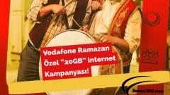 """Vodafone Ramazan Özel """"20GB"""" internet Kampanyası!"""